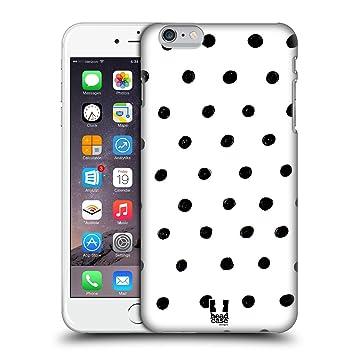 coque iphone 6 noir et blanc pois