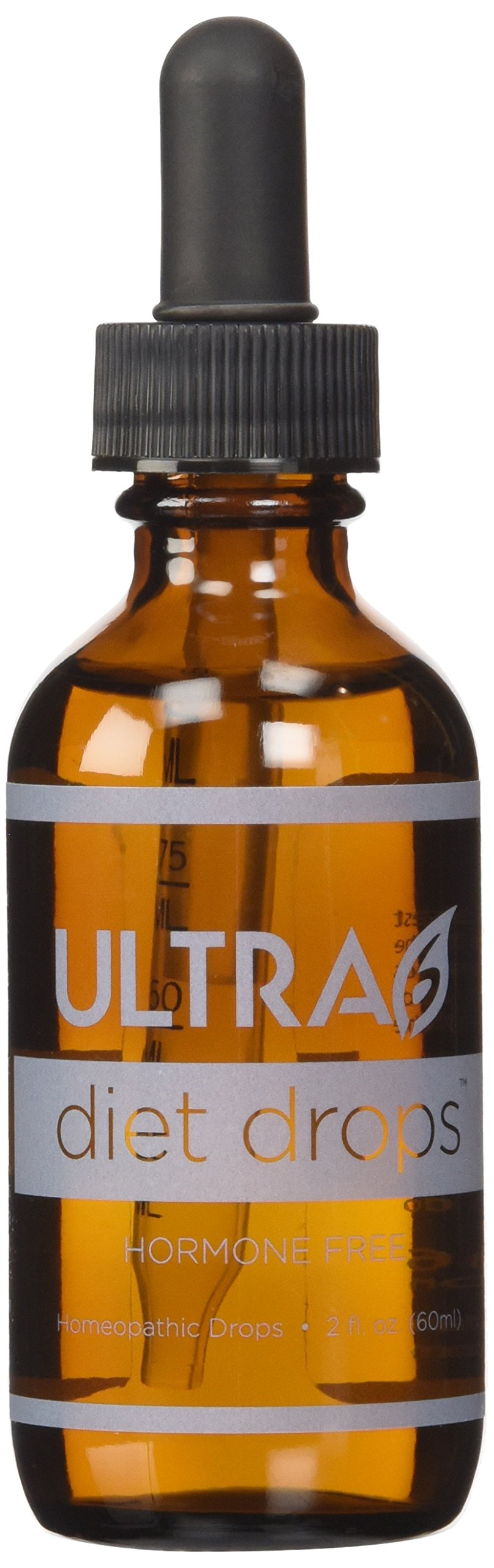 Ultra6 Diet Drops Complete Weight Loss System - Proven Diet Guide Included by Ultra6 Nutrition
