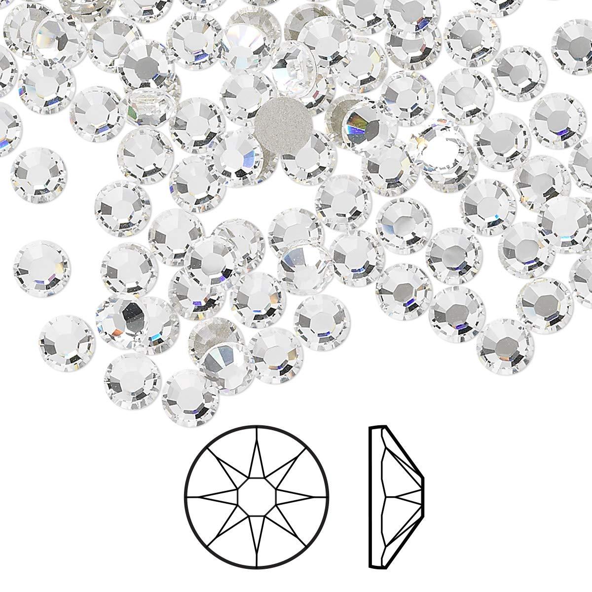 1440 pcs Crystal Clear Flat Back Rhinestones, ss20 4.7mm by Rhinestones Direct