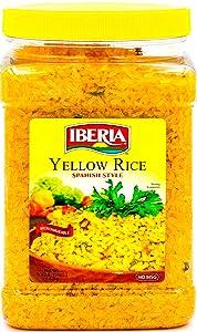 Iberia Yellow Rice Spanish Style, 54 Ounce