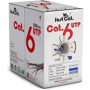 fast Cat. Bulk Cat6 Ethernet Cable