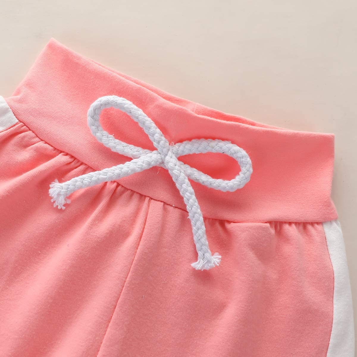 Newborn Baby Girl Pink Clothes Hoodie Letter Print Sweatshirt Top Pants Set with Pocket Baby Girl Fall Winter Outfit 2Pcs