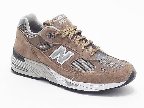 New Balance uomo, modello M 991, sneakers in camoscio e