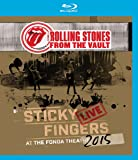 The Rolling Stones - From the Vault: Sticky Fingers Live at the Fonda Theatre 2015 [Blu-ray]