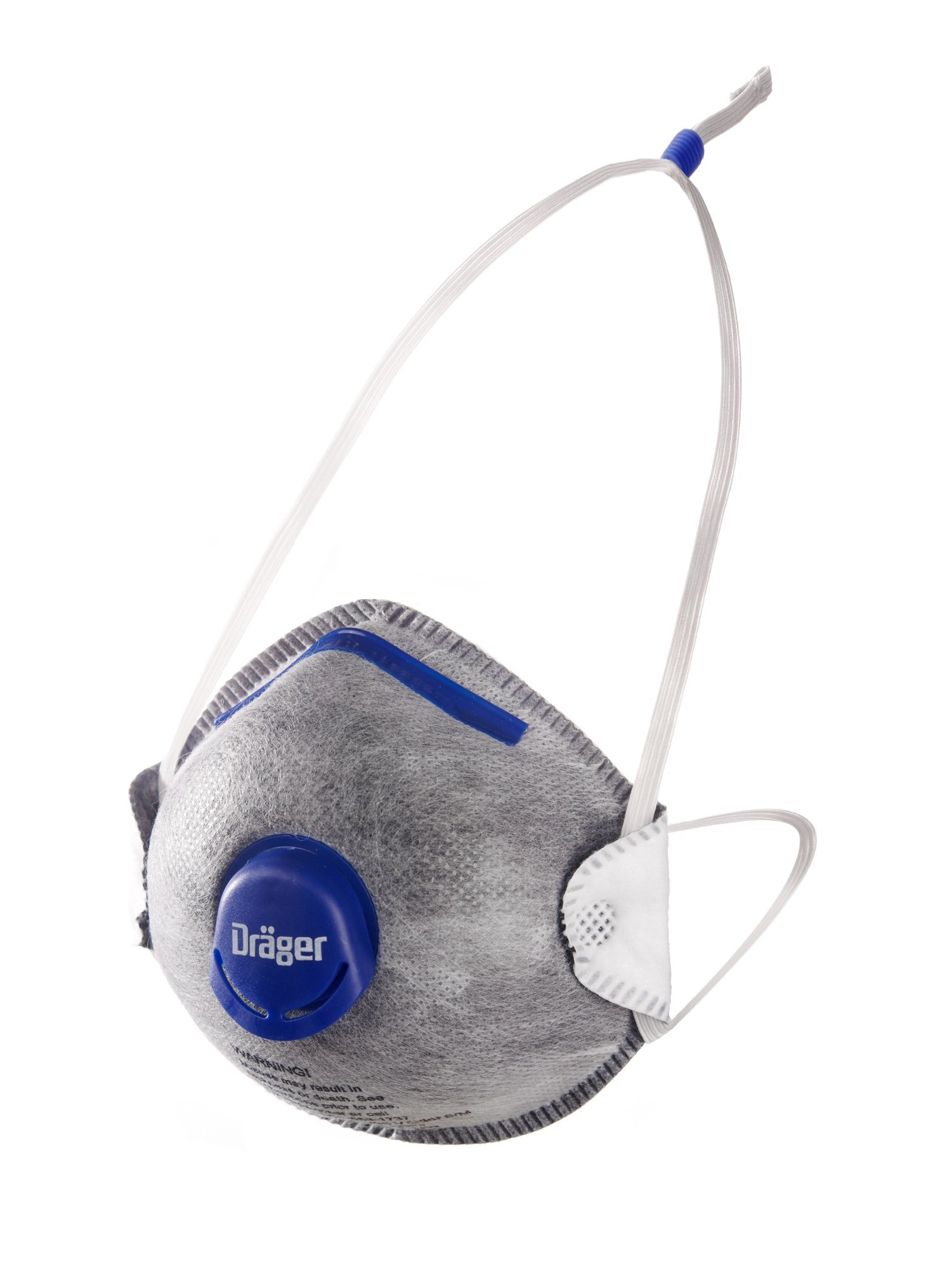 Dräger X-plore 1350 N95 respirator mask with exhalation valve and nuisance odor organic vapor relief | size M/L | molded, NIOSH-certified | against dust, pollen and other particles | 10 pieces