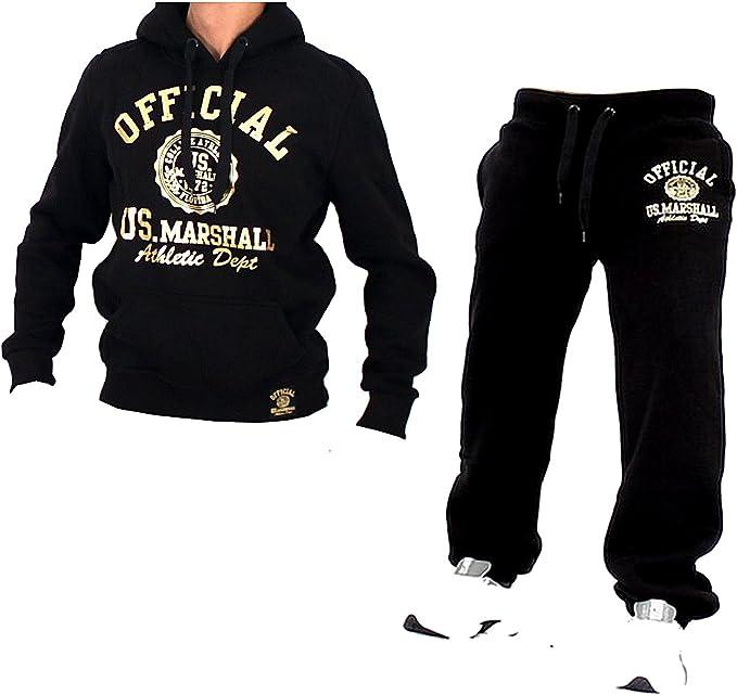 US Marshall - Chándal - Deportivas - para Hombre Bl-Gold Extra ...