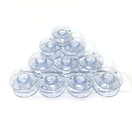 Amazon Cutex TM Brand 40 Plastic Bobbins For Husqvarna Viking Stunning Bobbins For Husqvarna Sewing Machines