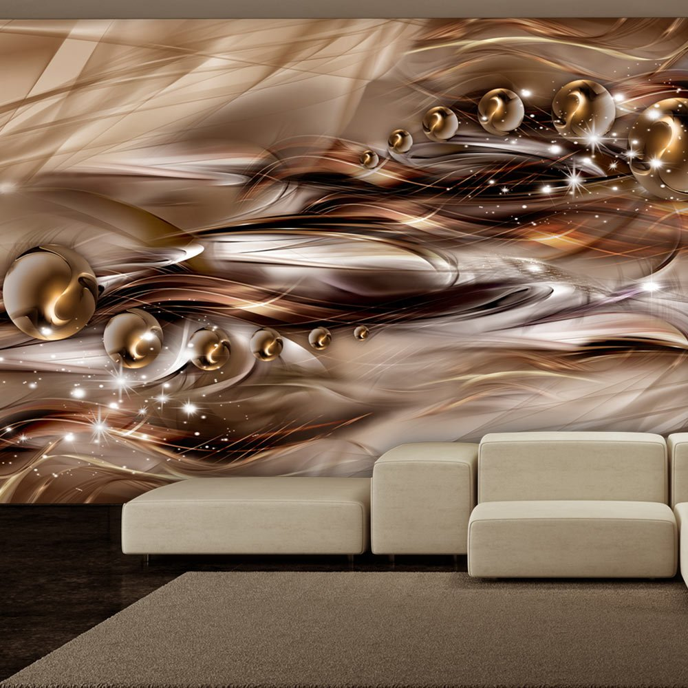 Murando - Fototapete 400x280 cm - Vlies Tapete Tapete Tapete - Moderne Wanddeko - Design Tapete - Wandtapete - Wand Dekoration - Abstrakt Gold a-A-0084-a-d B016DO3AJE Wandtattoos & Wandbilder 92b6a1