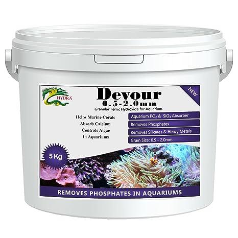 Hydra Devour 5 kg (grano 0.5 – 2.0 mm) fosfato Eliminator de acuarios y