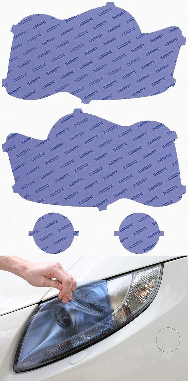 Automotive 08-10 Lamin-x Custom Fit Blue Headlight Covers for Jeep ...
