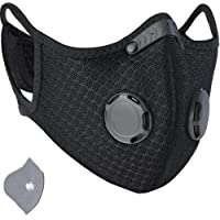 FACE GUARD Dust Breathing Mask, Anti Pollution, Activated Carbon, Dustproof Mask with a Carbon Filter, for Pollen…