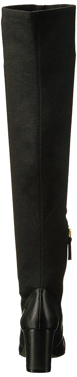 Nine West Frauen Frauen Frauen Stiefel schwarz/Metallic Stretch Fabric 1c9a72