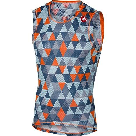 ab2da2a9be5504 Amazon.com   Castelli 2017 Pro Mesh Sleeveless Cycling Base Layer ...