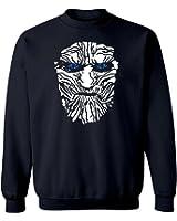 "Game of Thrones ""Night Watch"" Graphic Design Crew Neck Sweatshirt"