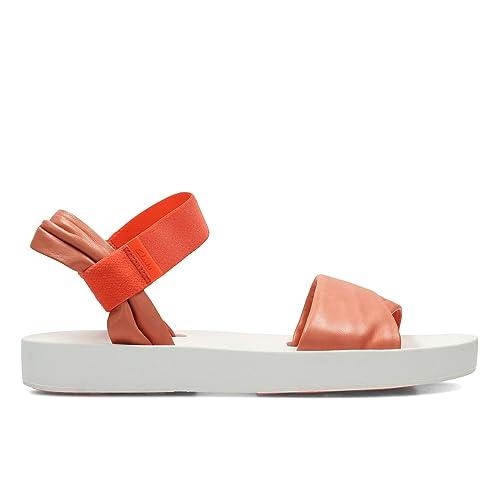 730357faa118 Clarks Women s Seanna Sun Brown Leather Fashion Sandals - 4.5 UK India  (37.5 EU