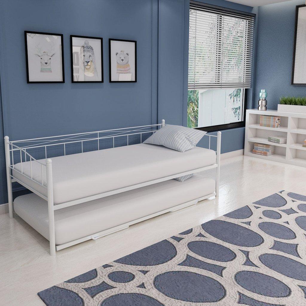 Interiorismo y decoraci n camas nido actuales for Cama nido doble con ruedas