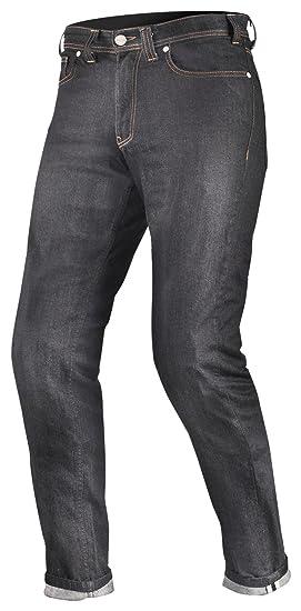 Shima Tarmac Raw Denim Kevlar Hombre Motocicleta Pantalones vaqueros SAS de Tec con protecciones