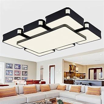 Led Leuchten Fã¼R Wohnzimmer | Aufputz Moderne Led Leuchten Fur Wohnzimmer Schlafzimmer Lamparas
