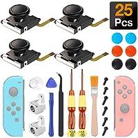 4 Piezas Joystick Analógico 3D, Sendowtek Joysticks de Reemplazo Para Nintendo Switch Joycon y Switch Lite, El Kit de…