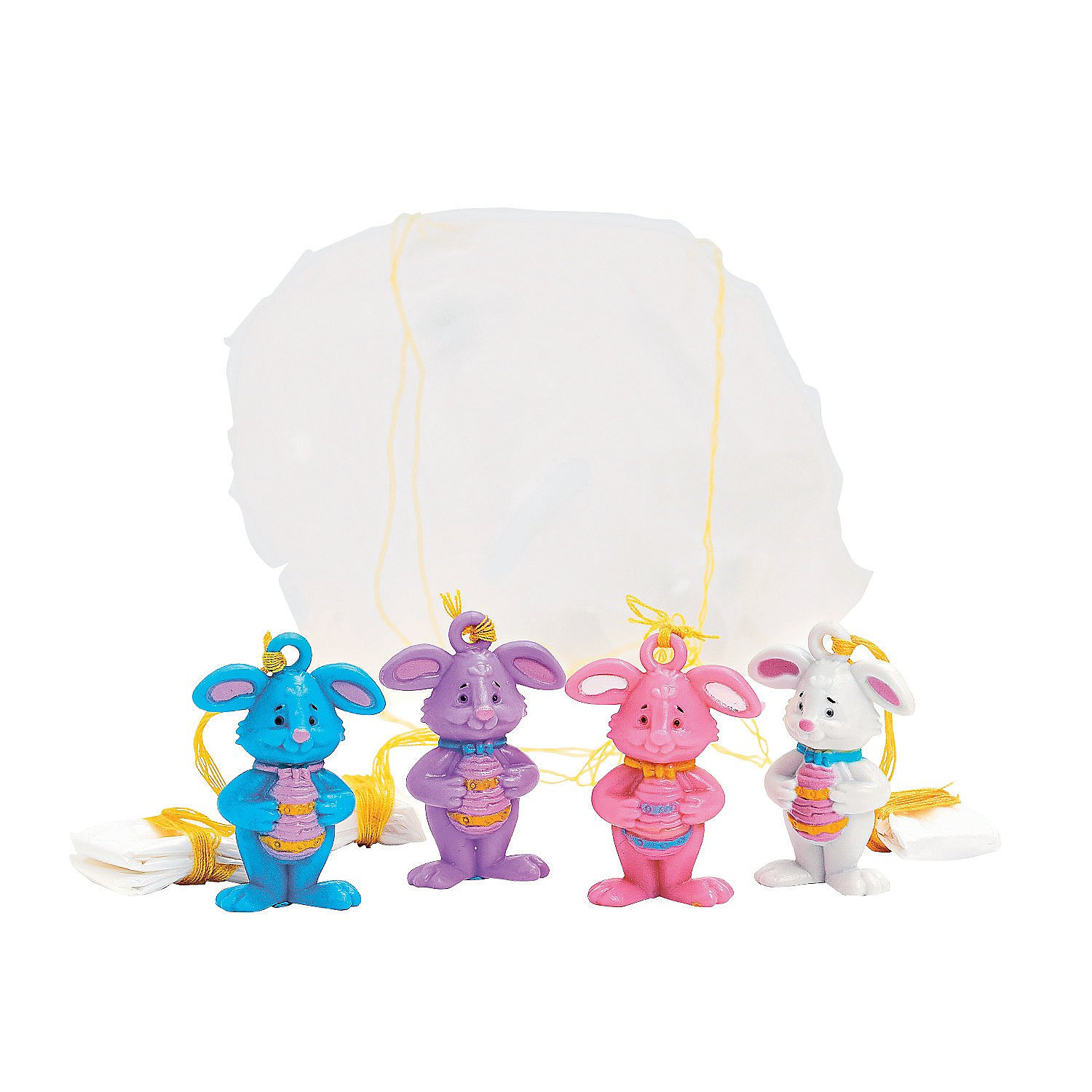 Fun Express Mini Easter Character Paratroopers