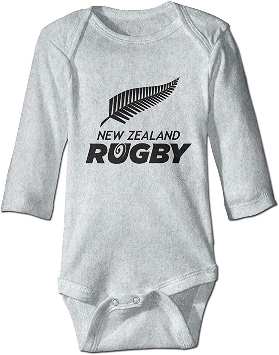 New Zealand Rugby Toddler Rompers Baby Boys Girls Bodysuit Outfits Long Sleeve