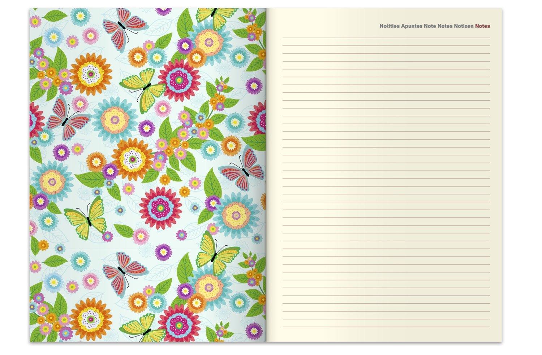 2018 Flower Fantasy Diary - teNeues Large Magneto Diary - Illustrations - 16  x 22 cm: Amazon.co.uk: teNeues Calendars & Stationery: 4002725953155: Books