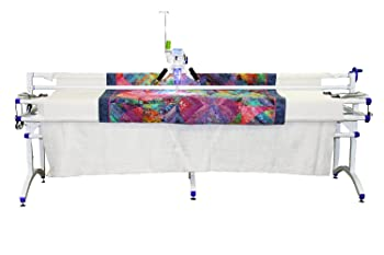 Juki TL 2200QVP Quilt Virtuoso Pro Longarm with Grace Virtuoso King Frame