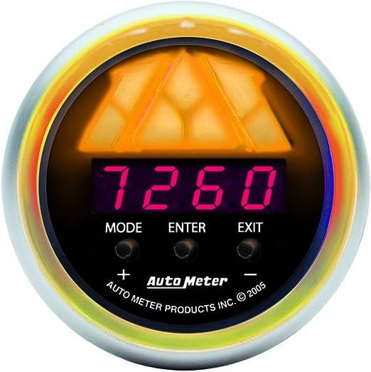 Auto Meter 3387 Sport-Comp 2-1//16 Level 1 Digital Pro-Shift System Shift Light Gauge
