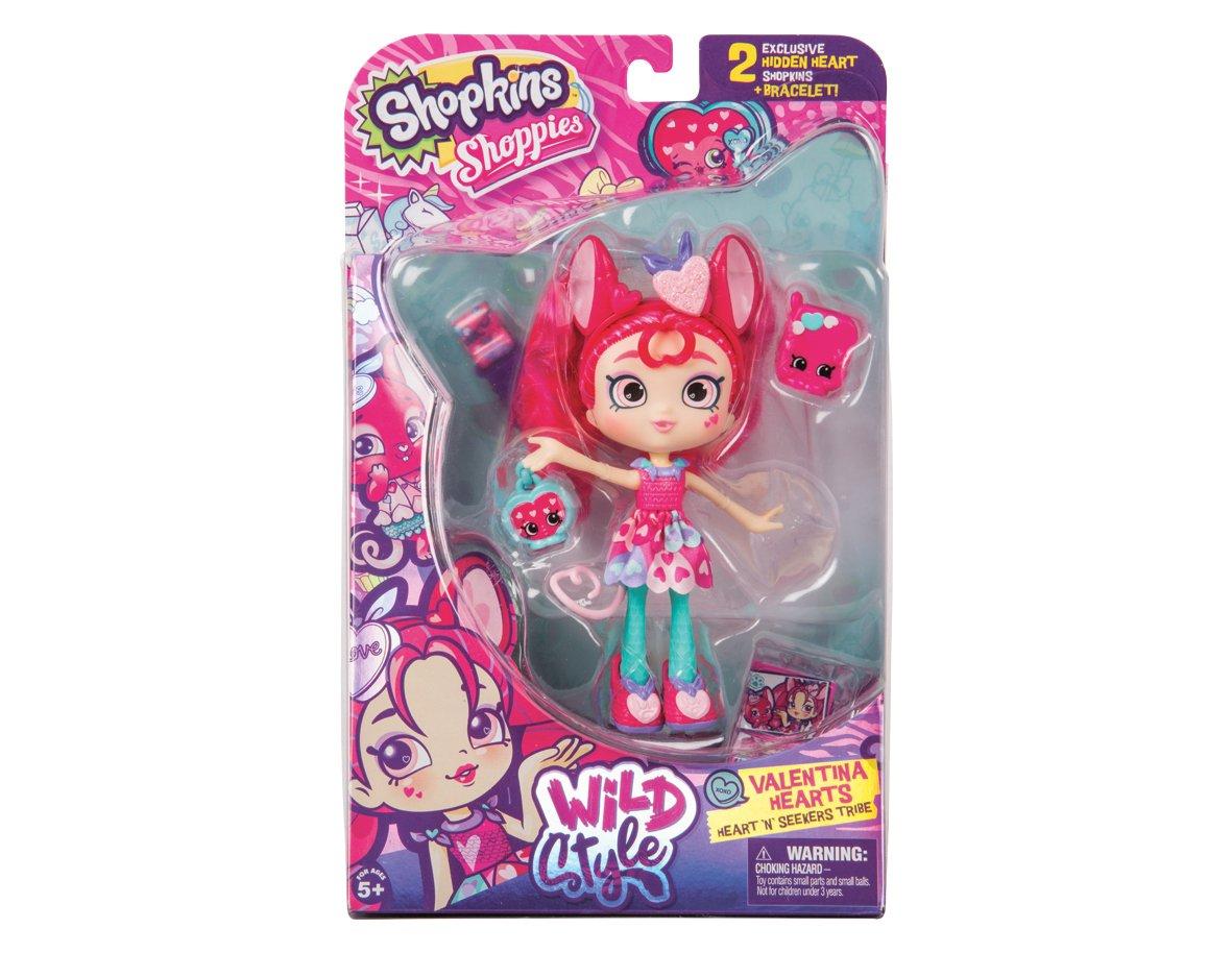 Amazon.es: Shopkins Shoppies - Muñecas temáticas Serie 9 - Valentina Hearts Mouse: Juguetes y juegos