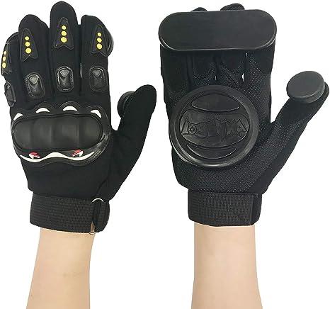 IMPORX Longboard Slide Gloves with 2 Slider Puck