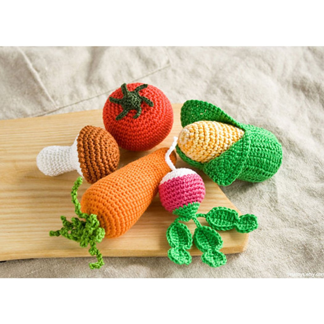 Amazon.com: raylans Baby Kids Niño Cute Crochet Knit Fruit ...