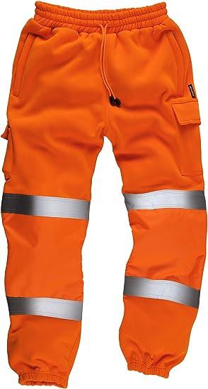 Standsafe HV021 - Pequeña hi-vis pantalones de entrenamiento ...