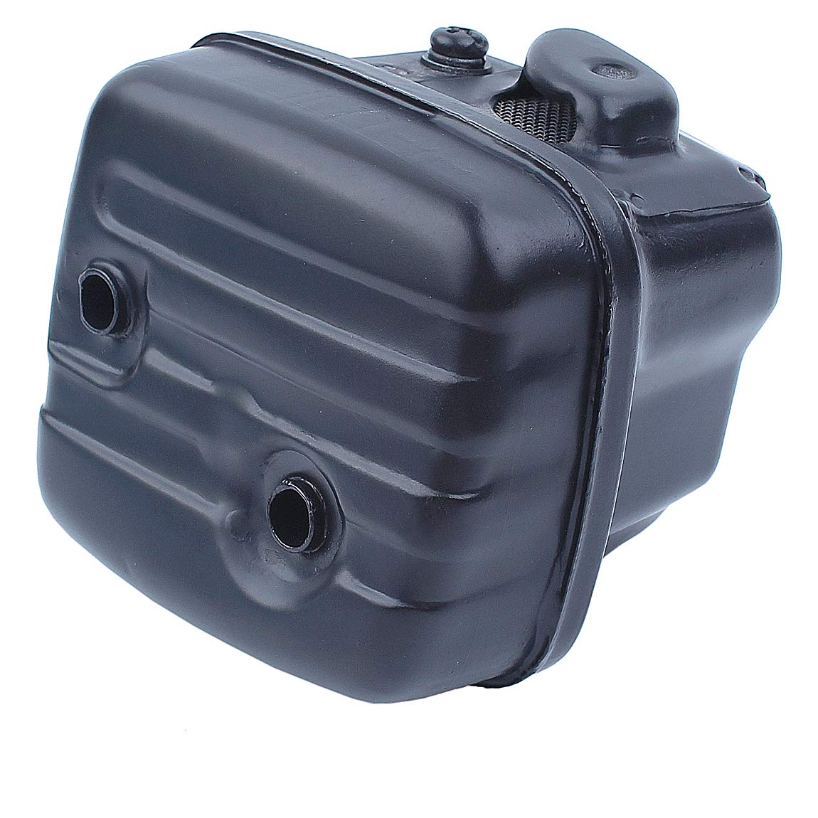 Haishine silenciador de Escape con Tornillos de Montaje del Filtro de Combustible para Husqvarna 340 345 346 346XP 350 351 353 Motosierra Jonsered 2150 2149 2152