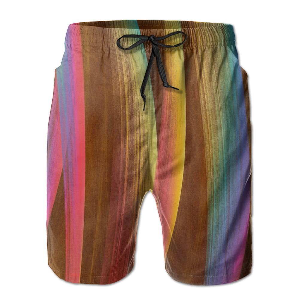 Liuxl Fine Arte Mens Beach Beach Shorts Quick Dry Bottom Slim-Fit Straight Watershorts Adjustable Pull Cord For Young Man