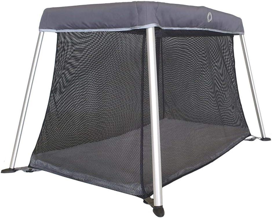 Venture Roma Lit Parapluie Light avec matelas en mousse et sac de transport 100 x 60 cm Gris