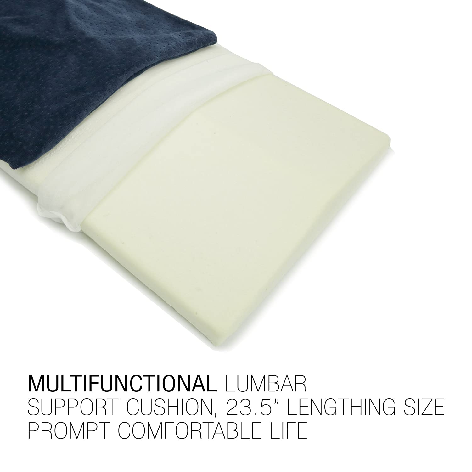 Amazoncom Lumbar Support Pillow For Sleeping  Multi Functional Sciatica Cushion