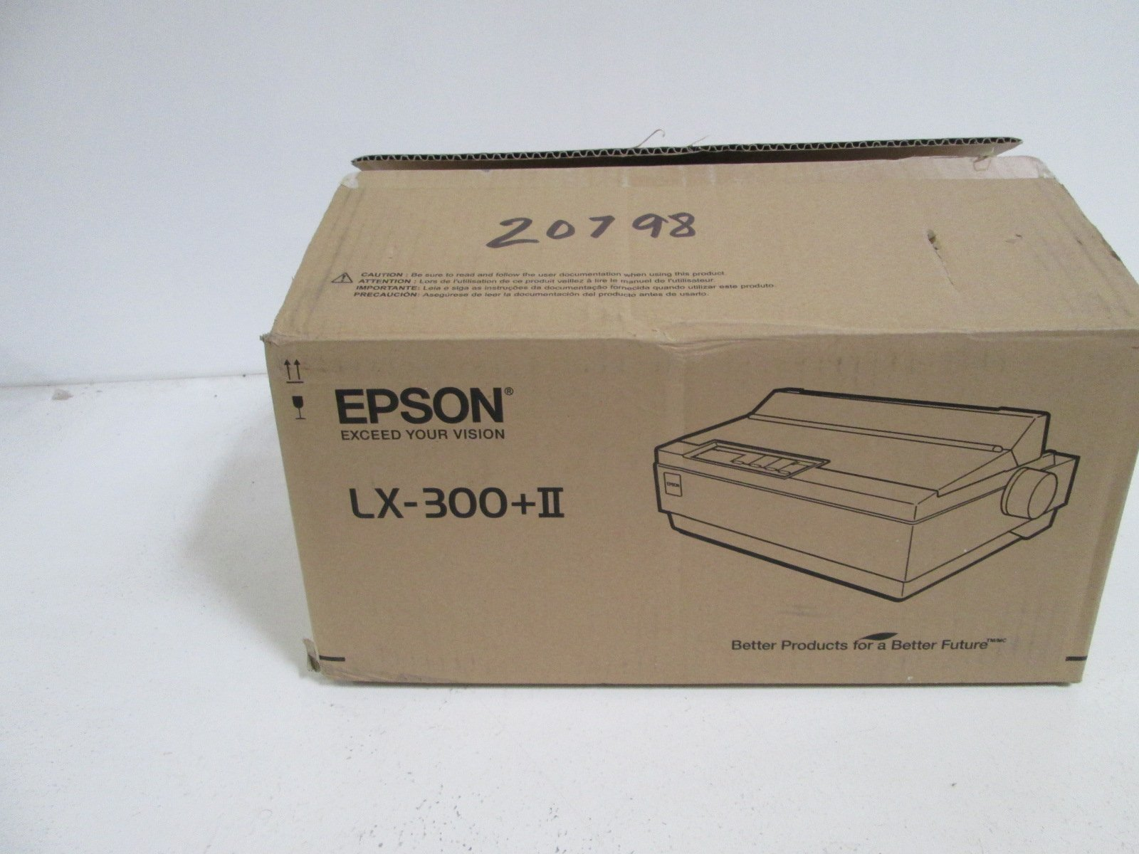 EPSON PRINTER LX-300+II *NEW IN BOX* by EPSON