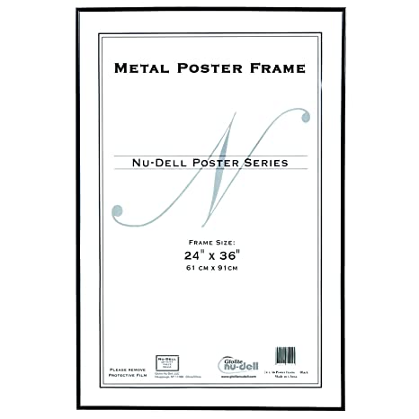 24×36 Poster Frame Size Comparison
