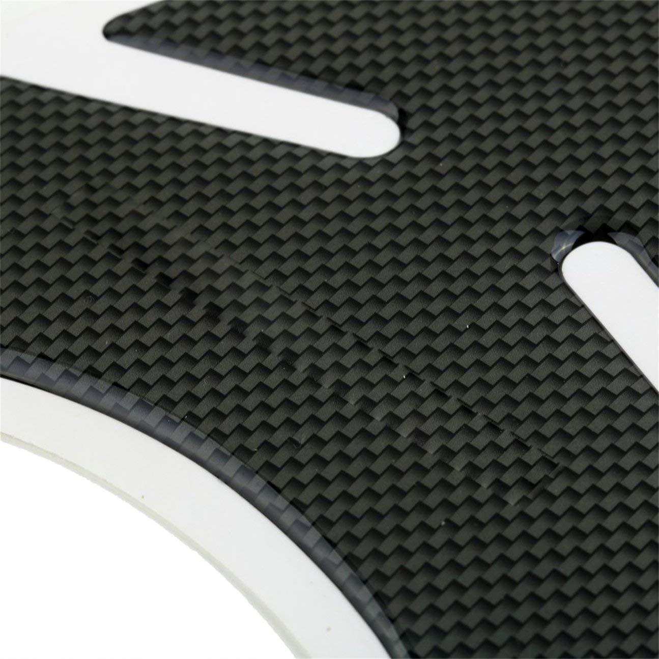 5cm Accessori del veicolo dellautomobile Mach Autoadesivo impermeabile del carro armato CBR 600 1000 del carro armato della fibra di carbonio dellautomobile per la motocicletta di Honda 19