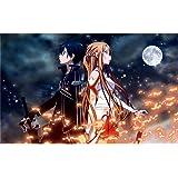 Sword Art Online (38inch x 24inch / 96cm x 60cm) Silk Print Poster - Soie Affiche - AA2C5E
