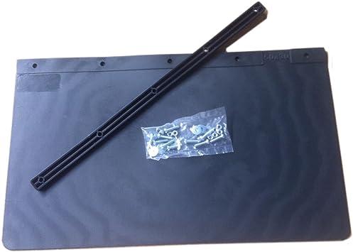 2 Schmutzfänger Schmutzlappen Spritzschutz LKW Gummi 400x400 mm 40 x 40 cm-Neu