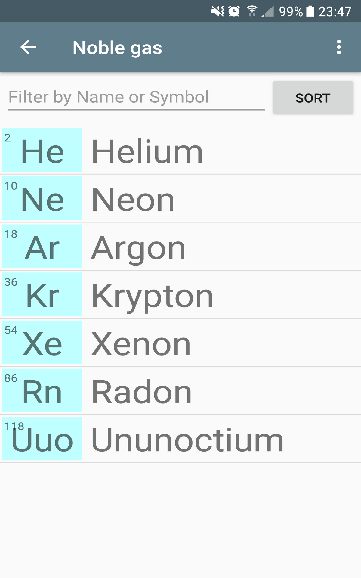 Amazon Periodic Table Appstore For Android