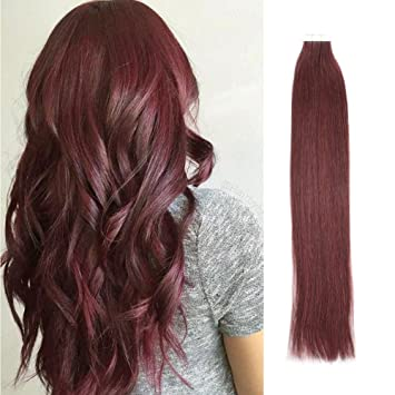 Sassina Seamless Tape in Human Hair Extension