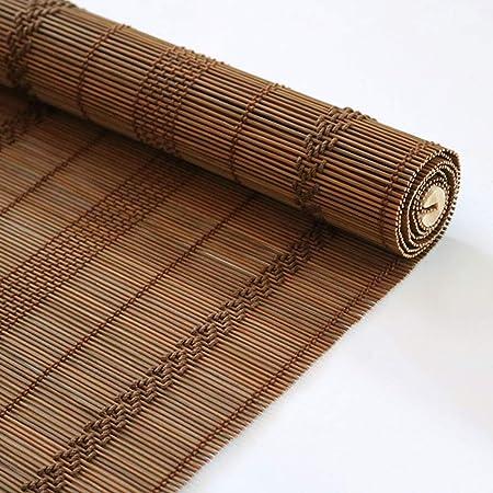 Persiana de bambú Persiana Exterior Con Accesorios, Al Aire Libre Rueda Para Arriba Persianas De La Cortina Para La Cubierta Del Patio Trasero Gazebo Pergola Balcón Patio Porche Cochera, Fácil De Enca: