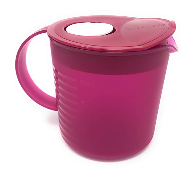 Tupperware Crystalwave microondas jarra: Amazon.es: Hogar
