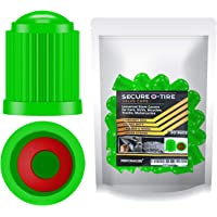 Performore 30 tapas de válvula de neumático, cubiertas de vástago de alta resistencia con anillos de goma tórica, tapas…