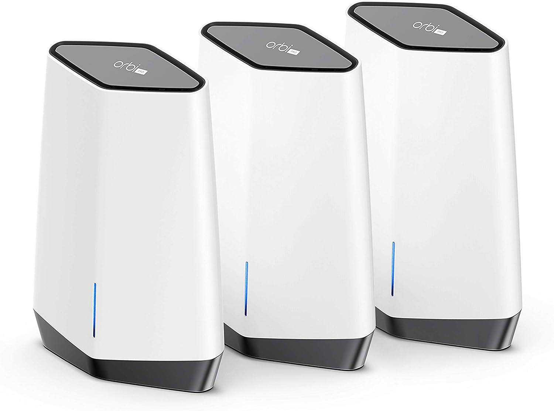 NETGEAR Système WiFi 6 Mesh Tri-Bandes Orbi Pro (SXK80B03)   Pack de...