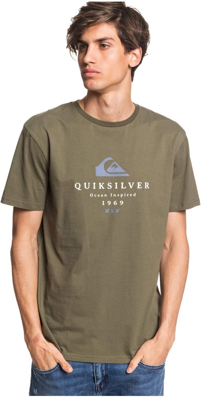 Quiksilver First Fire-Maglietta da Uomo
