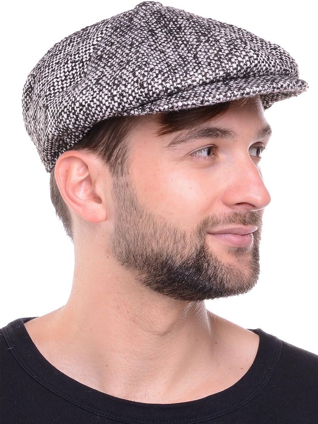 Superora Schieberm/ütze Flatcap Schirmm/ützen Gatsby Barett Cap Herren Fr/ühling und Sommer