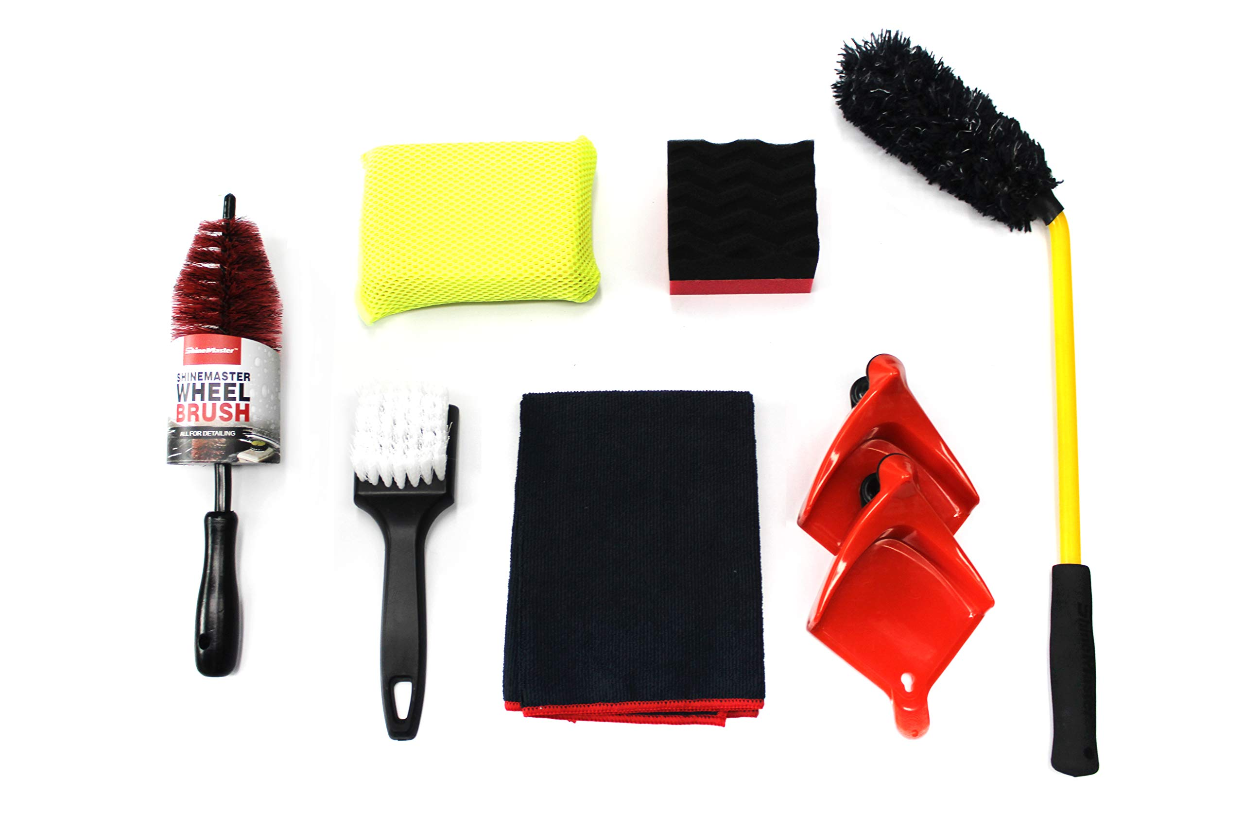 Maxshine Brush Combo Series Kit 3- Specially for Detailing Tire & Wheel